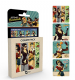 Bombshells DC Comics set of 4 cork backed drinks coasters   (ge)